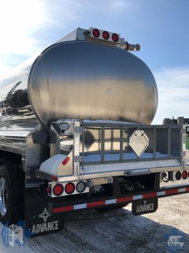 New Peterbilt Tridem Axle Fuel Truck rear