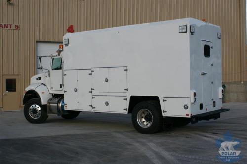 Single axle Lube Truck